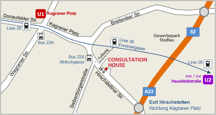 Directions to ConsultationHouse